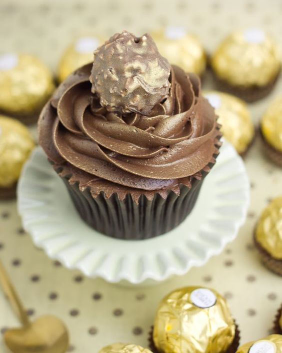 Ferrero rocher and cupcake on pinterest - Objetivo cupcake perfecto blog ...