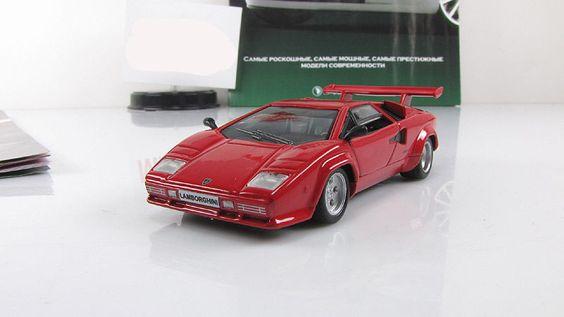 "Lamborghini Countach LP500 S 1:43 Altaya ""SUPERCARS"" series  #ISTDeagostini #Lamborghini"