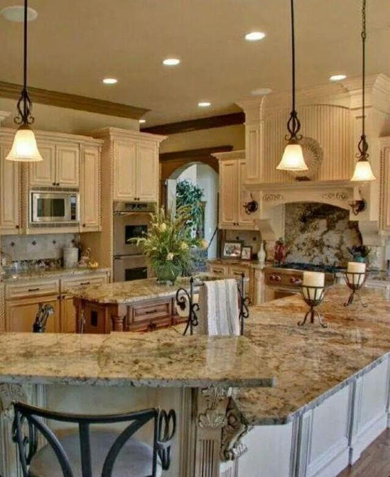Countertops, Nice And Kitchens On Pinterest