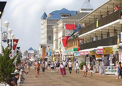 Myrtle Beach - The oceanfront Boardwalk