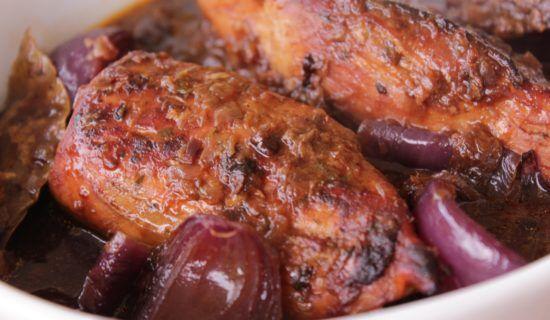 Bifes De Lombo De Porco A Manteiga De Alecrim Porco Assado