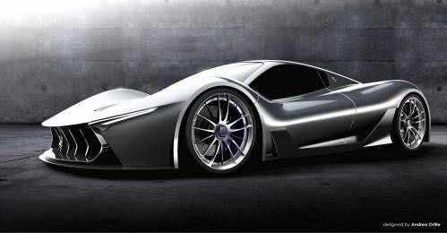 Maserati Mc 63 Is A Stunning Design Proposal For A Laferrari