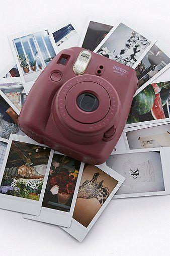 Fujifilm X UO Custom Colour Burgundy Instax Mini 8 Camera: