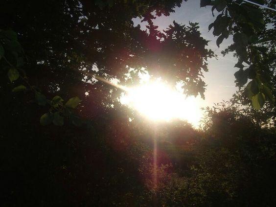 Evening sun over Couroussaine