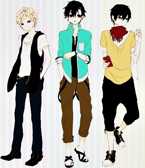 Casual Mens Outfits Artistic Pinterest Anime