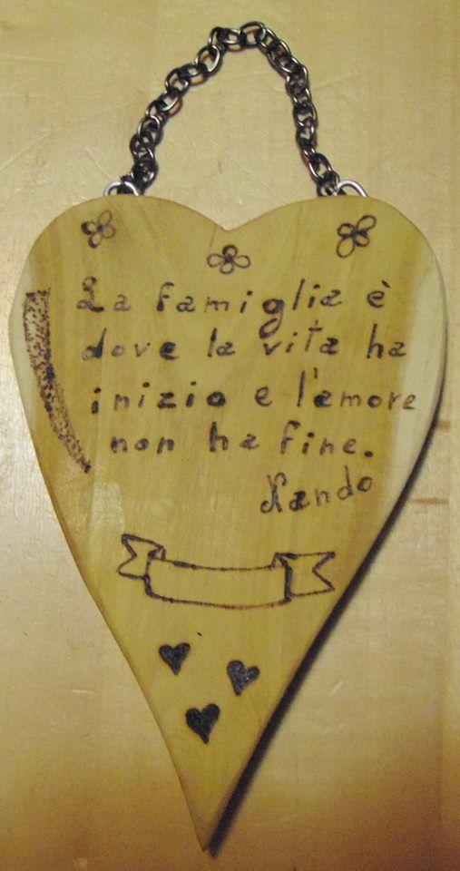 Frasi Su Cuore Le Pirografie Di Nando