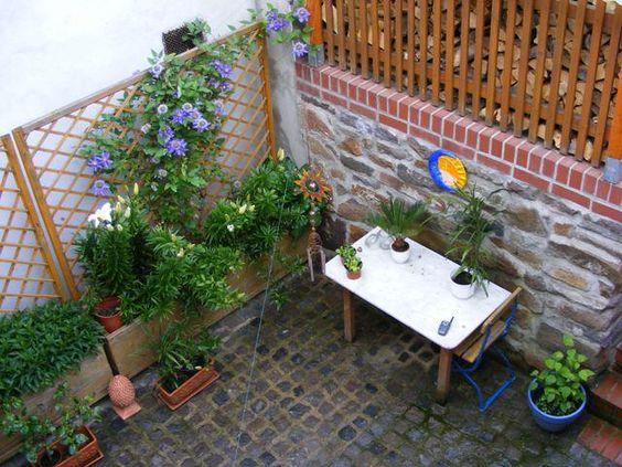 Innenhof Gestalten - Seite 1 - Gartengestaltung - Mein Schöner ... Garten Mit Patio Gestalten
