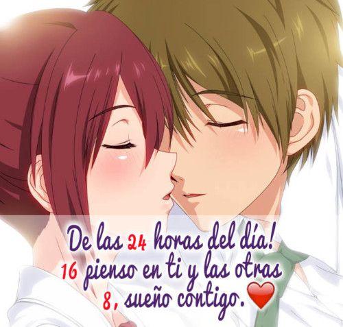 Imágenes Anime Con Hermosas Frases De Amor Y Desamor Frases De Amor Libros Amor Japones Mensajes De Amor