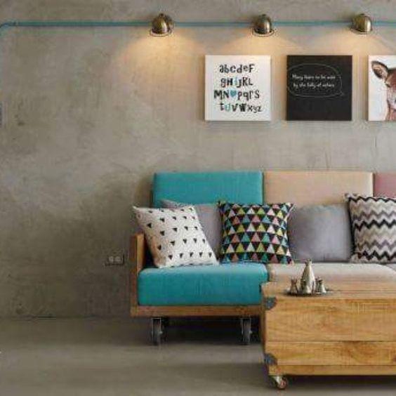 Shared by clique_e_decore #homedesign #contratahotel (o) http://ift.tt/1SyyCGU total industrial com cimento queimado e fiação aparente. #designdeinteriores #conceptodesign #inspiracao #projetos #obras #design #designer #interiordesign #interior #home #homedecor  #decor #decoration #decoração #decorating #decorations #instagood #instahome #instalove #instadecor