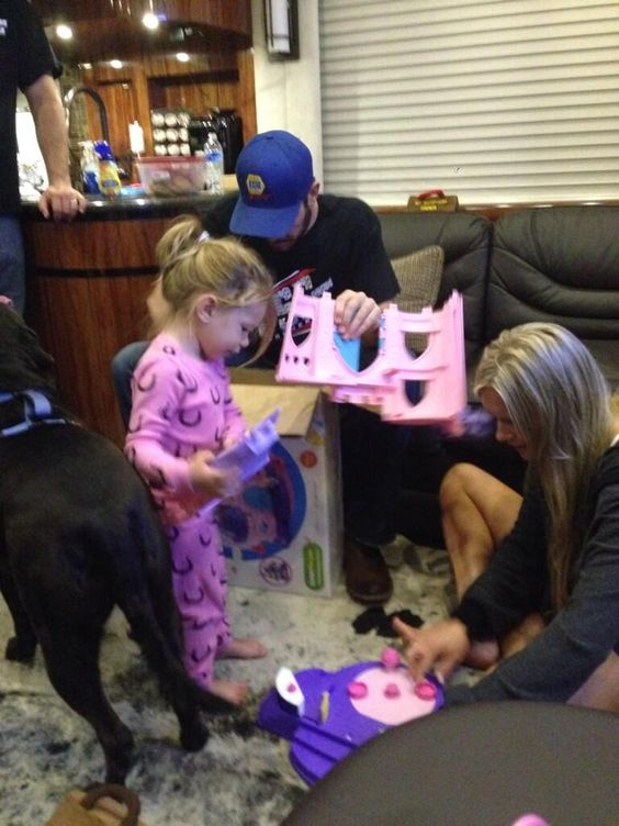 Watching uncle Martin put a Cinderella Castle together last night for Brooklyn's birthday...priceless. ☺️❤️❤️❤️ Brooklyn kept saying, come on uncle Martin, is it done yet so I can play. (From Aunt Sherry Pollex) 11/16/13: Aunt Sherry, Martin Lee, Brooklyn S Birthday, Cinderella Castle, Martin Truex Jr, Lee Truex, Nascar Martin, Priceless Brooklyn, Birthday Priceless