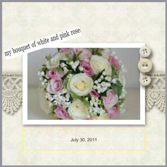 Ana's wedding bouquet