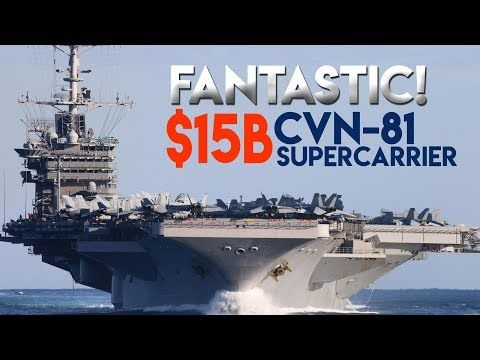 Really Wow 15b For The Fourth Ford Class Supercarrier Cvn 81 Uss Gerald R Ford Things To Come Passenger Jet