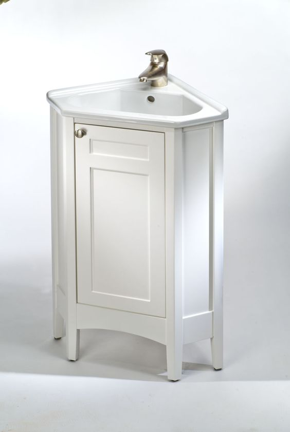 24 vanity cabinet with sink biltmore corner sink Empire bathrooms
