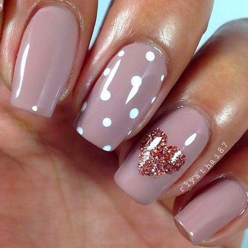 35 Cute Valentine S Day Nail Art Designs Page 2 Of 3 Stayglam Nail Designs Valentines Valentine Nail Art Valentine S Day Nail Designs