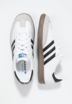 adidas Originals SAMBA - Sneaker low - white/black - Zalando.de