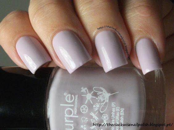 The Clockwise Nail Polish: Purple Professional Nº59