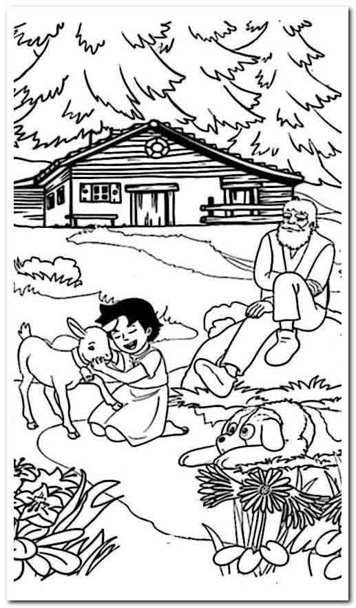 In The Night Garden Colouring In Night Garden Garden Coloring Pages Gardening For Kids