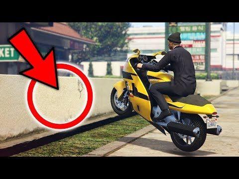 Super Rare Bike Stunt Spot Gta 5 Stunts Fails Online Gta