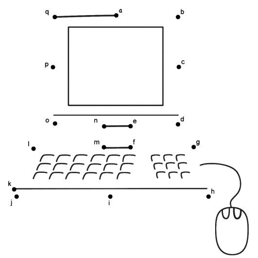 Computer Connect The Dots Page Computer Lessons Kids Computer Teaching Computers