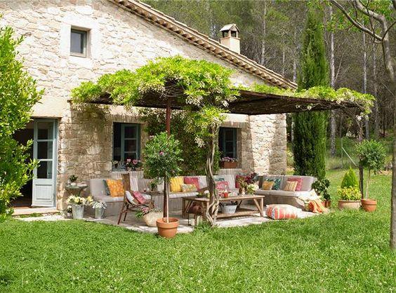 Un porche renovado
