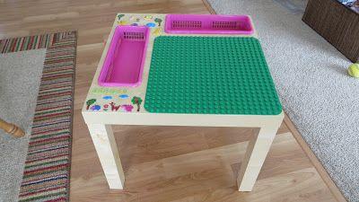 IKEA Lack side table $9.99 => Lego table | Kids | Pinterest | Ikea ...