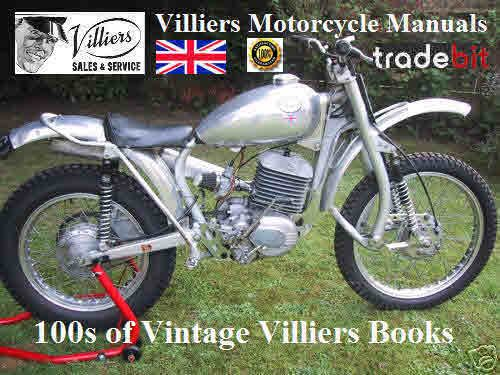 Villiers Vintage Parts Book No22 Vintage Parts Repair Manuals Vintage Motocross