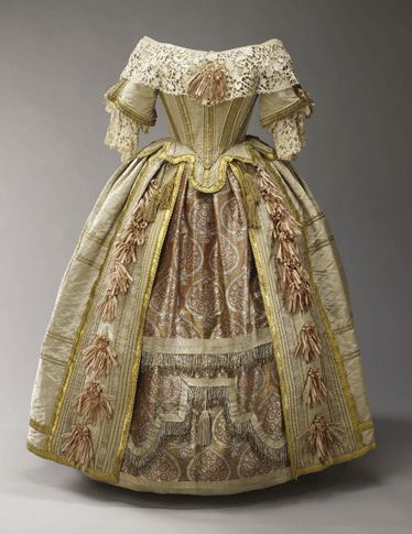 Dress made for Queen Victoria