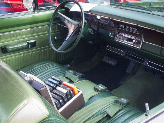 Dodge dart 1970 interior