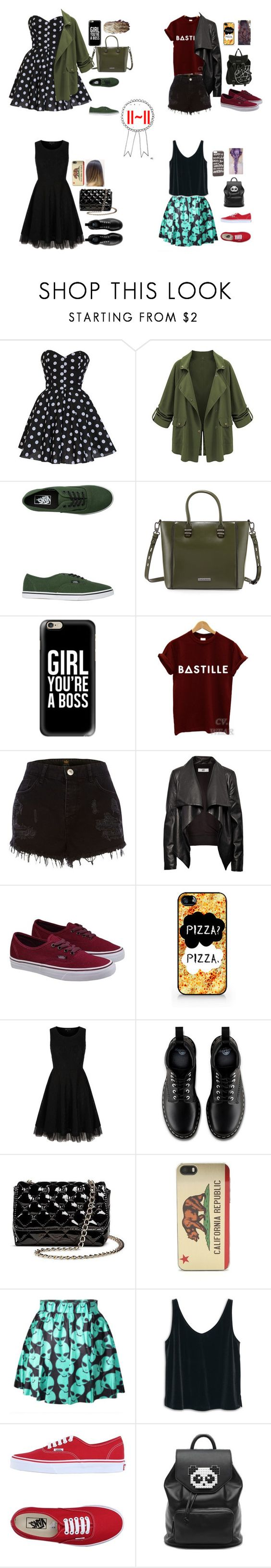 """""""We got stuff to do--I . A"""" by magconxkylee ❤ liked on Polyvore featuring Vans, Charles Jourdan, Casetify, INDIE HAIR, River Island, HIDE, Samsung, Yumi, Dr. Martens and Betseyville"""