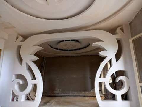 ديكورات جديدة لأقواس جبسية غاية فالروعة Youtube Ceiling Design Bedroom Ceiling Design Home Decor