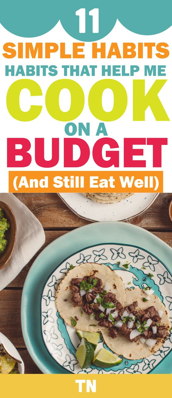 Cooking On A Budget, 13 Smart Ways To Save Money When You Cook, budget meal planning