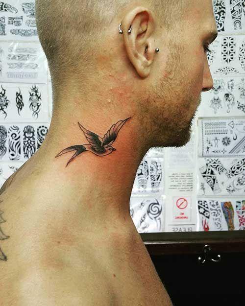 Bird Neck Tattoos For Guys : tattoos, Erkek, Boyun, Dövmesi, #boyun, #dovmesi, #erkek, #Kuş, Tattoo,, Tattoo, Guys,, Tattoos