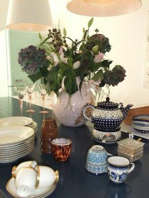 vase by Hella Jongerius + teapot etc. from poland