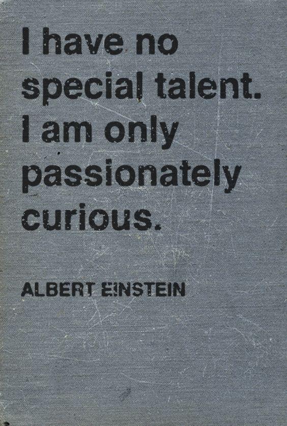 Hey, I'm just like Einstein!