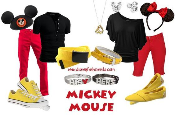 Disney Bounding With The Disney Fashionista- His and Hers Mickey Mouse!