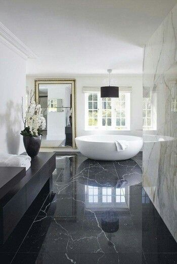 Marble Textured Bathroom