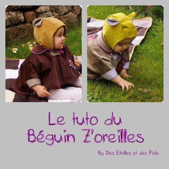 Tuto Béguin Z'oreilles by Des Etoiles et des Pois