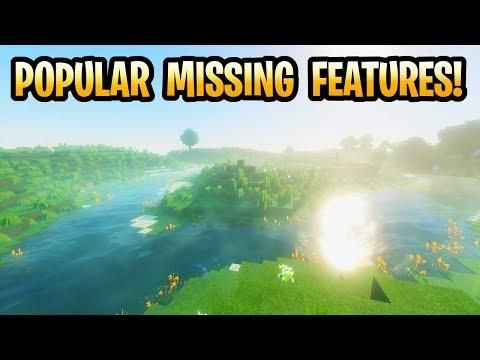 Minecraft Popular Missing Features! Switch Servers, Super