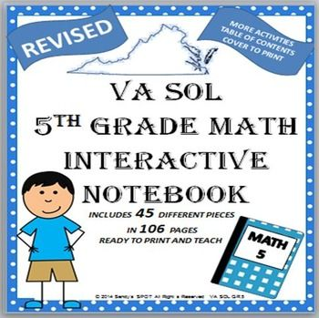 3rd grade math sol review packet 1000 images about sol preparation on pinterest virginia. Black Bedroom Furniture Sets. Home Design Ideas