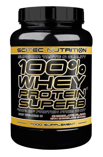 100%* Whey Protein Superb - 900g Dose (Scitec Nutrition)
