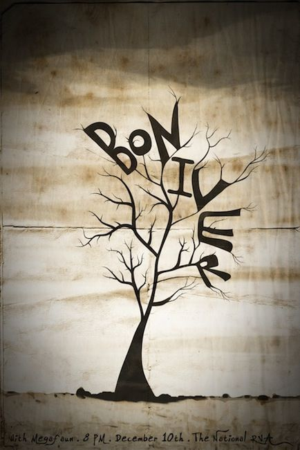 Bon Iver...if you don't have his album buy it...now!