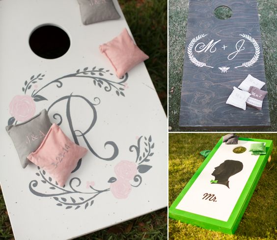 Now Trending: Elegant Beanbag Games for Your Wedding   Lover.ly