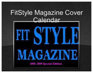 FitStyle Magazine Cover Calendar