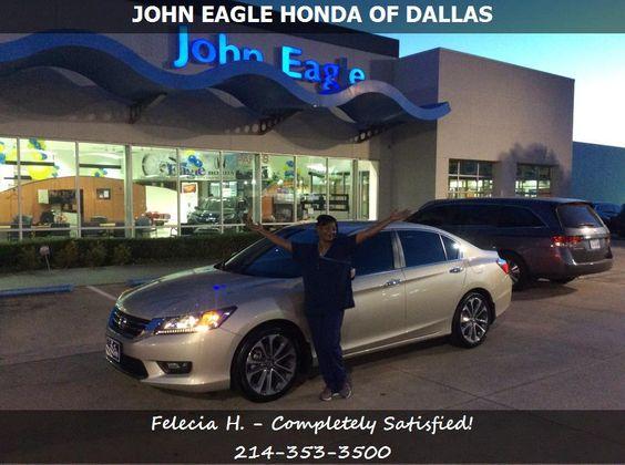 John Eagle Honda 5311 Lemmon Avenue Dallas, TX 75209 (214) 353-3500