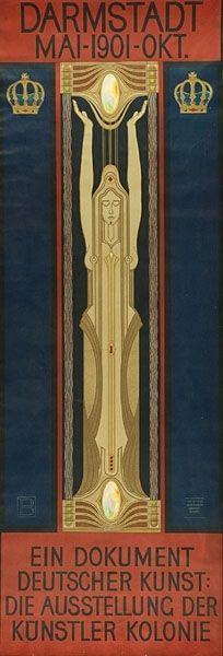 Darmstadt Mai-1901-Okt. Ein Dokument deutscher Kunst: Die Ausstellung der Künstler Kolonie