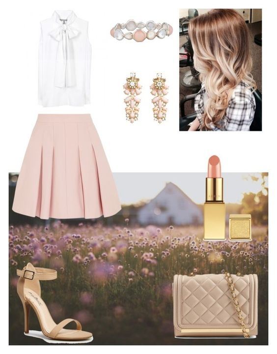 """""""Gentle style"""" by creativedream1 ❤ liked on Polyvore featuring beauty, Victoria Beckham, RED Valentino, ALDO, AERIN, Ippolita and H&M"""