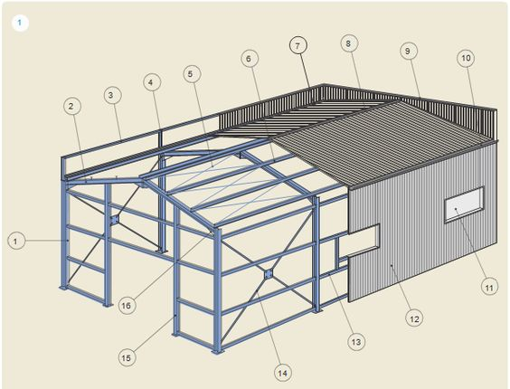 construction m tallique terminologie genie civil charpentes assemblages cours batiment plan. Black Bedroom Furniture Sets. Home Design Ideas