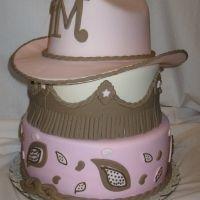 cute cowgirl cake