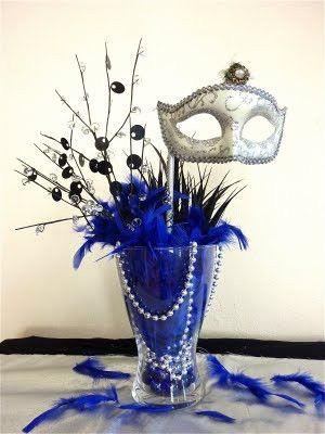 Centrepieces masquerade-ball
