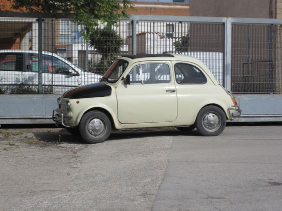 Fiat 500 in Sardegna